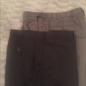 Lot of 2 pair of dress pants.  Both size 42x32.